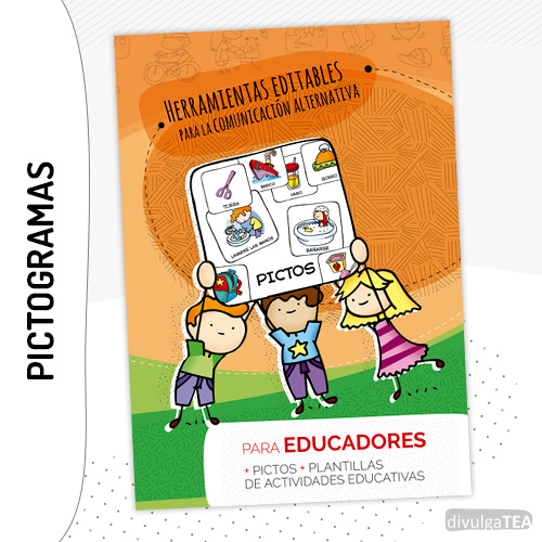 Pictos divulgaTEA 600 Herramientas Editables SAAC