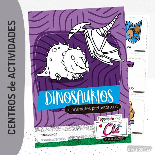 Actividades dinosaurios y animales prehistóricos