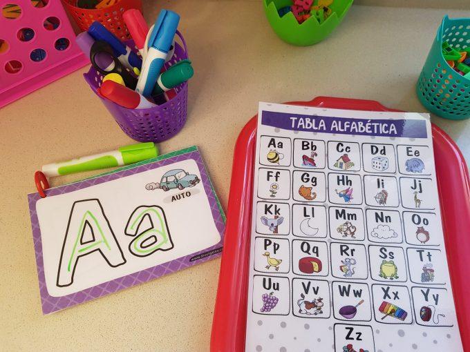actividades de lectoescritura para niños con tea